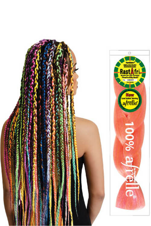 Rastafri Afrelle Freed M Silky Braiding Hair