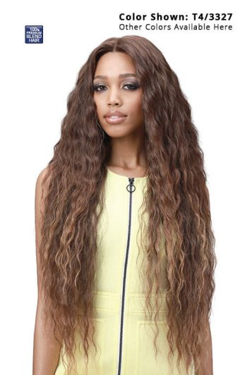 Bobbi Boss Lace Front Human Hair MBLF003 Eliza Glueless Lace Wig