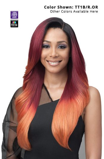 Bobbi Boss Blended Hair MBLF001 Alivia Glueless Lace Front Wig
