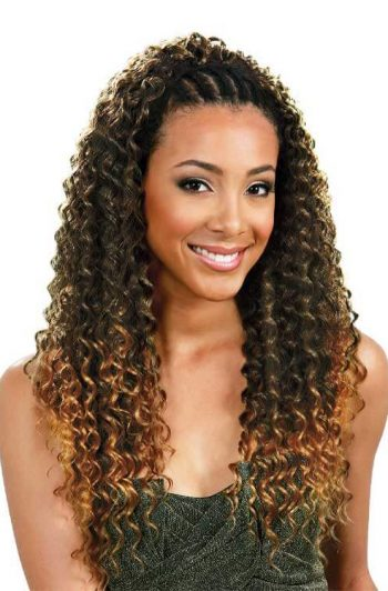 Bobbi Boss Braz French Deep Dual Braid Model Front