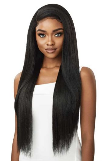 Outre Perfect Hairline Shaday 32 Wig Model Front