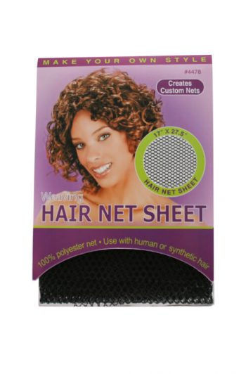 Annie Ms. Remi #4478 Weaving Hair Net Sheet Front