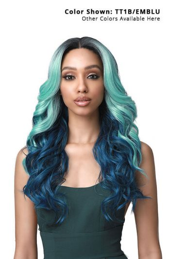Bobbi Boss TrulyMe MLF425 Andrina Lace Front Wig Model Front