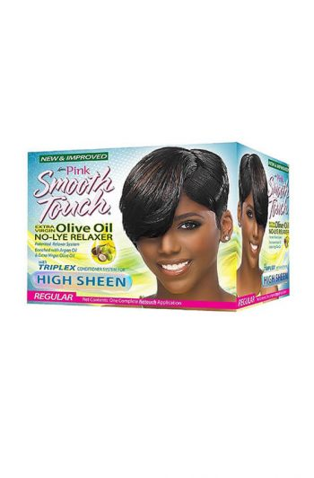 Luster's Pink Smooth Touch Regular Strength New Growth Relaxer Kit