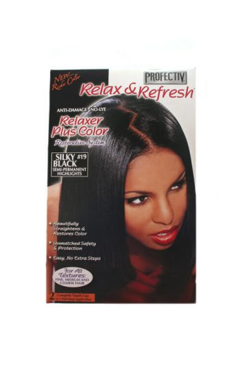 Profectiv Relax and Refresh Silky Black Front