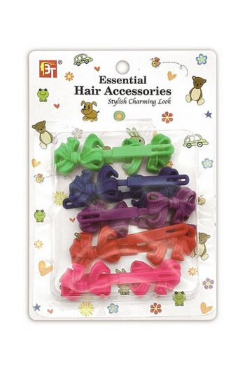 Beauty Town Kids Hair Barrettes Bow Package