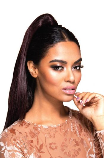 Eve Hair Casa Blanca FHP-035 Drawstring Synthetic Ponytail Front