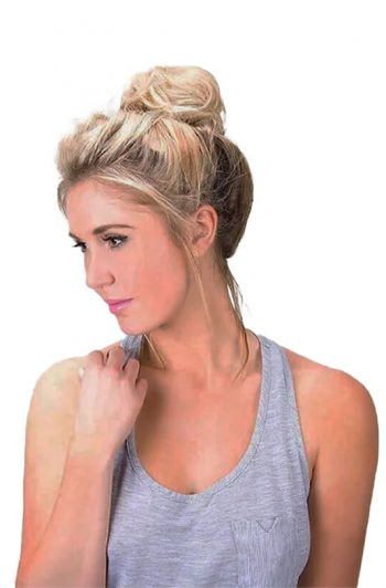 Hair Couture Scrunch It Instant Messy Bun Ponytail