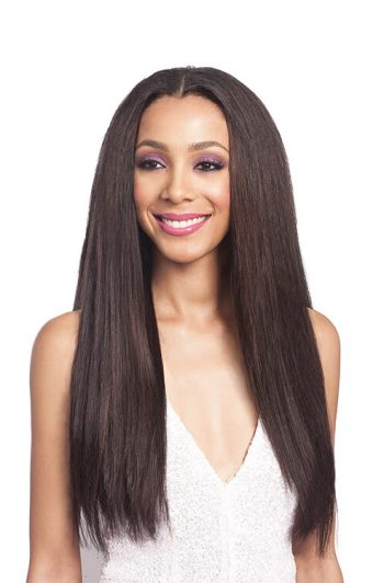 Bobbi Boss Forever Nu 7 Soft Straight Synthetic Weft 7PC 1 PK Front