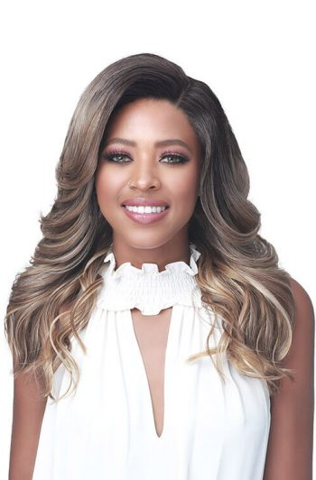 Bobbi Boss MLF376 Colette First Class Hair Synthetic Lace Front Wig Model Front