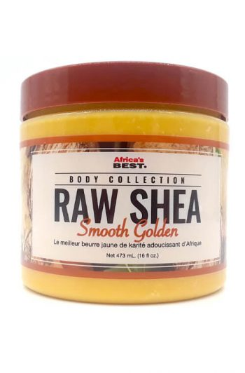 Africa's Best Body Collection Raw Smooth Golden Shea Butter 16 oz