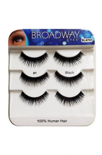 Broadway Lashes 3 Pack BLAT01