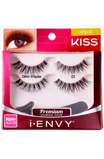 Kiss i-Envy Demi Wispies Double Pack KPED33 Packaging Front