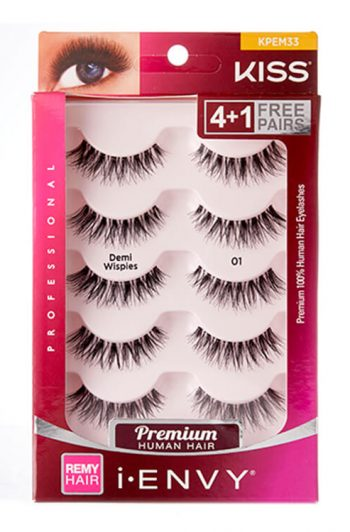 Kiss i-Envy Demi Wispies Value Pack Packaging Front
