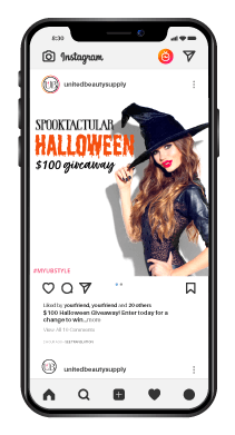 Instagram Post $100 Giveaway Shopping Spree Ends Oct. 31