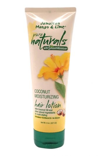 Jamaican Mango and Lime Pure Naturals Coconut Moisturizing Hair Lotion 8 oz