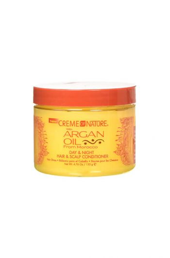 Creme of Nature Argan Oil Day & Night Hair & Scalp Conditioner 4.76 oz