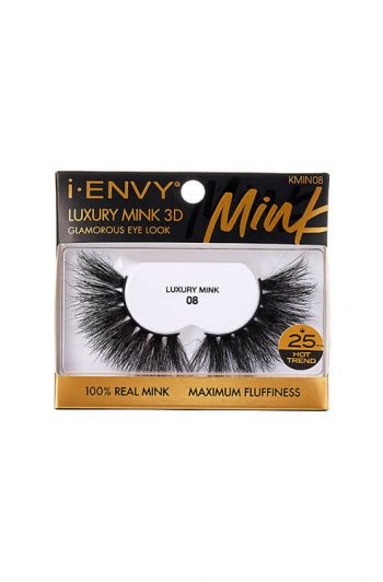 Kiss i-Envy Luxury Mink 3D Collection KMIN08 Packaging Angles