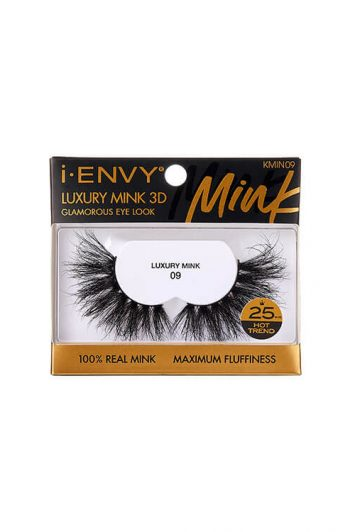 Kiss i-Envy Luxury Mink 3D Collection KMIN09 Packaging Front