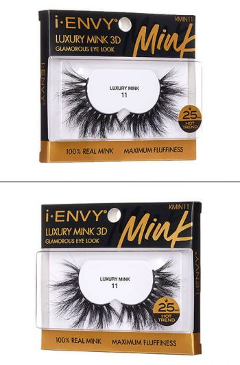Kiss i-Envy Luxury Mink 3D Collection KMIN Packaging Angles