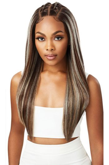 Outre Perfect Hairline Jaylani Wig Creamy Mocha Front