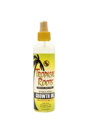Bronner Bros Tropical Roots Stimulating Growth Oil 8 oz
