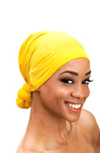 Qfitt Handmade Knotted Head Wrap Assorted Colors MM260 Model