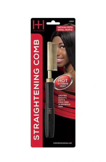 Annie Straightening Comb Med Teeth Small Temple 5501