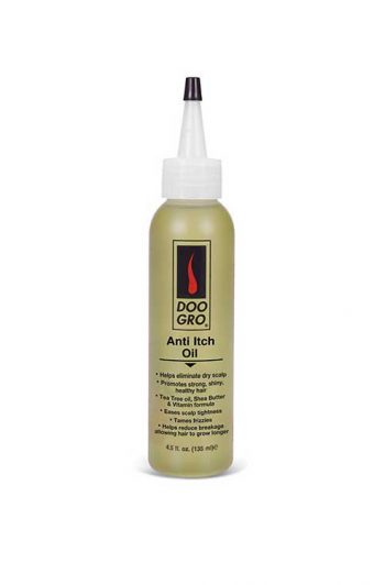Doo Gro Anti Itch Oil Packaging
