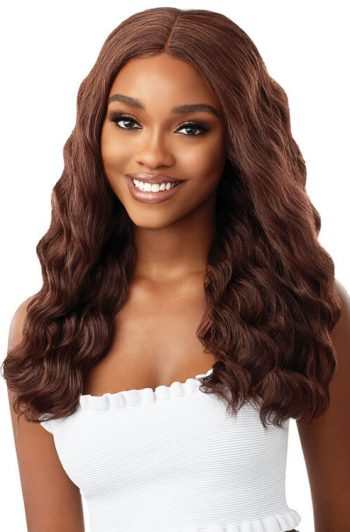 Outre Every 7 Wig Model Brown Front