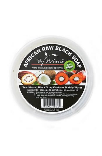 By Natures African Raw Black Soap 8oz