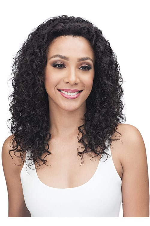 Bobbi Boss MHLF410 Emory 100% Unprocessed Bundle Remy Hair Lace Front Wig Front