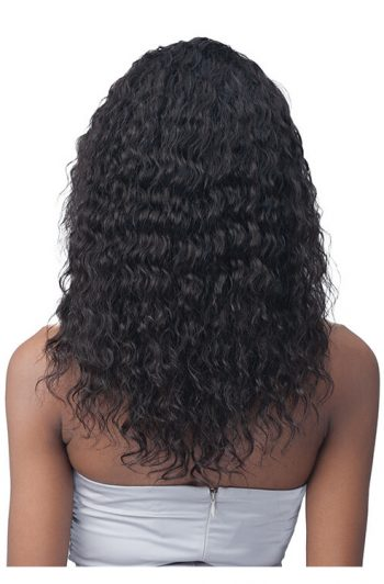 Bobbi Boss MHLF564 Cheryl 100% Unprocessed Human Hair Lace Front Wig Back