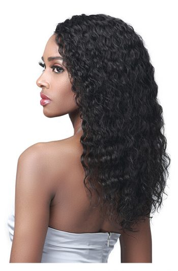 Bobbi Boss MHLF564 Cheryl 100% Unprocessed Human Hair Lace Front Wig Side