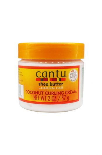 Cantu Shea Butter for Natural Hair Coconut Curling Cream 2 oz