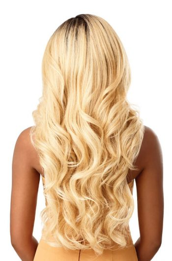 Outre Melted Hairline Kamalia HD Transparent Lace Front Wig Back
