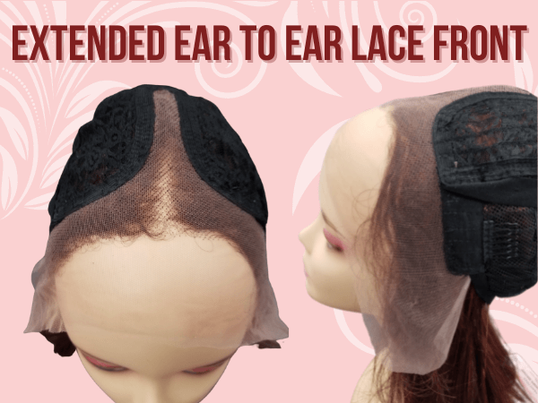 Extended Ear to Ear Lace