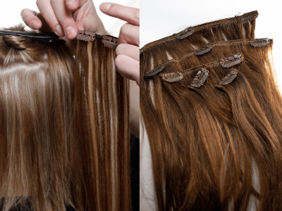 Blog Image: Clip In Hair Extensions