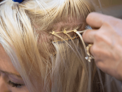 Blog Image: Micro Bead Extensions